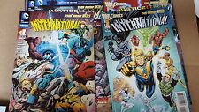 Justice League international JLA comic lot NEW 52 1-12 annual 1 nm bagged