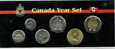 2013 Canadian Brilliant Uncirculated Six Coin Year Set in Nice Display!