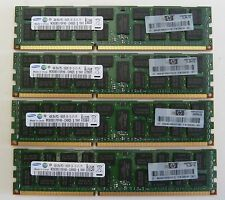 HP 16GB (4x4GB)  500204-061   DDR3 1066MHz Reg ECC HP DELL IBM