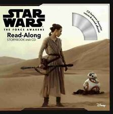 Read-Along Storybook and CD: Star Wars the Force Awakens by Disney Book Group...