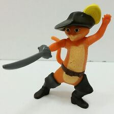 2011 Puss In Boots  with Sword McDonald's happy meal cake Topper