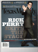 TEXAS MONTHLY Magazine (July 2014) Rick Perry Exits the Stage
