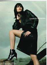 Publicité Advertising 2002 Pret à porter vetements Chaussures Charles Jourdan