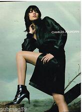 Publicité Advertising 2002 Pret à porter vetements Chaussures Charles Jourdan
