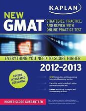 Kaplan New GMAT Essentials 2013 with Computer Adaptive Practice Test by Kaplan …