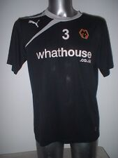 Wolverhampton Wanderers Puma Football Soccer Shirt Player Worn Training Adult L