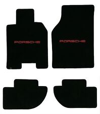 Lloyd Mats ULTIMATS™ LICENSED PORSCHE® 4pc FLOOR MAT SET; 1986-1991 Porsche 944
