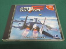 SEGA Dreamcast -- AERO DANCING F -- JAPAN GAME Clean & Work fully 28617