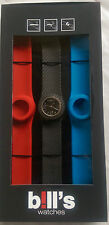 BILL'S WATCH CLASSIC PKCL01 LOCK SLAP BRACELET BNIB WARRANTY B!LL'S WATCHES