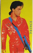 PRINCE STICKER Vintage 1990 Nude Tour 13 cm Original Mint 'Red Suit' Image NEW
