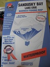 FHS Fishing & Boating Map Chart GPS Points Guide Sandusky Bay Lake Erie M380