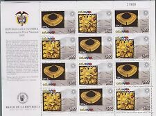 O) 2005 COLOMBIA, ARCHEOLOGY GOLDEN MUSEUM BANK OF THE REPUBLIC 150 AC    500 AC