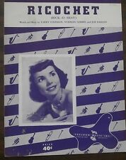 Ricochet (Rick-O-Shay) Teresa Brewer Sheet Music 1953