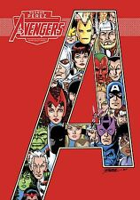 IDW AVENGERS GEORGE PEREZ Artist Select HARDCOVER! HC! SIGNED! SEALED!