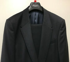"Paul Smith BLEU MARINE Costume PS 100% Wool UK42 EU52 Poitrine 42"" Taille 96.5cm"
