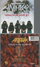 CD--ANTHRAX--ATTACK OF THE KILLER B'S --