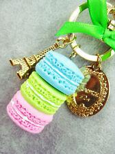 CHIC New Fashion Macaron Keyring Cute Keychain Metal Key Ring Chain Keyfobs Hot