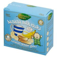 Rafferty's Garden Banana Milk Rusks Toothiepegs 100g