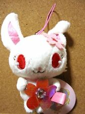 "Sanrio Jewelpet Ruby Mascot ""4 UFO SOFT Plush Doll Japan Tag Mint"