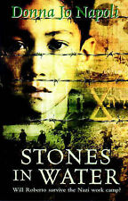 Donna Jo Napoli Stones in Water Very Good Book