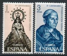 SPAIN MNH 1965 SG1753/54 400th Anniv of the Christanization of the Phillippines