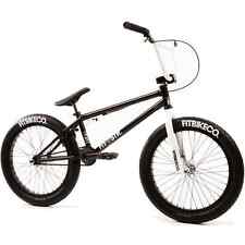 "2017 FIT BIKE CO STR BMX 20"" BICYCLE GLOSS BLACK SUNDAY CULT PRIMO KINK HARO"