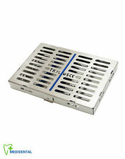 10 Instruments Rack Sterilization Cassette Medical Tools Autoclave Tray Save £35