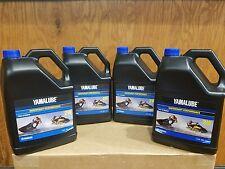 YAMALUBE 2W PWC WAVERUNNER WATERCRAFT 2-STROKE ENGINE OIL  ( X4 )