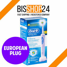 Oral-B Vitality 3D White Electric Toothbrush D12.513 BRAUN NEW