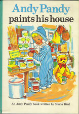 ANDY PANDY PAINTS HIS HOUSE - 1975 HB - BBC TV SERIES WATCH WITH MOTHER - G/VG