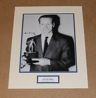 HAND SIGNED SIR TOM FINNEY ENGLAND PRESTON AUTOGRAPH PHOTO MOUNT + COA PROOF