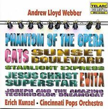 Andrew Lloyd Webber by Erich Kunzel (Conductor) (CD, Apr-1996, Telarc)
