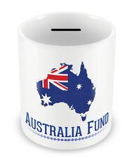 Australia Fund Money Box - Oz Piggy bank Gift Idea Holiday Savings Great #37
