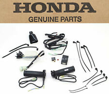 New Genuine Honda Heated Grips Kit 12-13 NC700X Complete Grip Set & Hardware O89