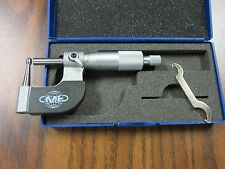 "0-1"" Tube MICROMETER 0.0001"" grad.,carbide tipped,part# 4048-TBE--NEW"