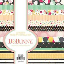 Bo Bunny Youre Invited  Collection 6 x 6 Paper Pad scrapbook BoBunny new 6x6