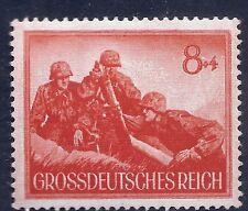 Nazi Germany Third Reich 1944 Nazi Army Soldiers 8+4 Stamp WW2 Era #d