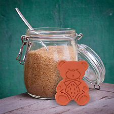 Original Brown Sugar Bear Saver Softener Keeper Clay Set of 2 Reusable Easy