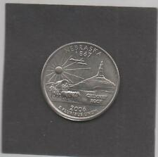 Moneta Stati Uniti United States Quarter Dollar 25 Cent 2006 D Nebraska STU236