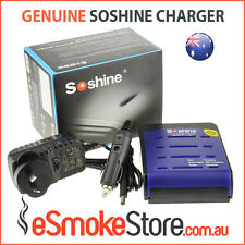 Soshine SC-S1 MAX-III V3 Rapid Li-Ion, Fast 18650 Battery Charger + Car Charger