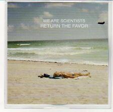 (EN628) We Are Scientists, Return The Favor - 2013 DJ CD