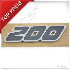 """Original Ford Fiesta ST Aufkleber Emblem """" 200 """" Schriftzug Abzeichen Logo"""