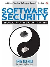 Software Security: Building Security In (Addison-Wesley Software Security Series