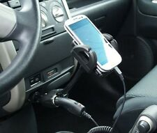 Car Cigarette Lighter Mount Holder for Apple Iphone 5S 4S Phone with USB Docking