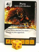 Marvel Dice Masters - 2x #051 Pyro Saint-John Allerdyce - The Uncanny X-Men
