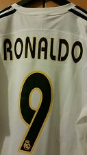 Camisa Retro Real Madrid - 9 Ronaldo Talla L