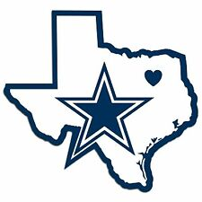 NFL Dallas Cowboys Home State Auto Car Window Vinyl Decal Sticker