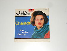 "Ulla Wiesner - 7"" Single - Charade - Joe oder Jonny - Polydor 52 298"