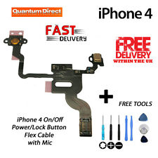 NEW Replacement On/Off Power/Lock/Button/Switch Cable FREE Tools FOR iPhone 4