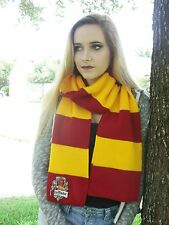 Harry Potter inspired gryffindor scarf